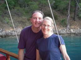 Ira and Liz Allen - enjoying our time on PALUKO