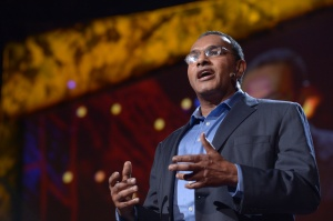Dr. Hrabowski speaks at TED2013. Photo by TED2013.