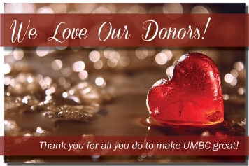 we love our donors